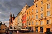 Kamienice na Rynku Głównym w Krakowie