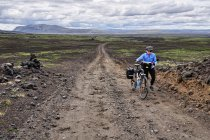 Kamienista droga do rezerwatu Fjallabak