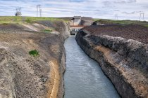 Kanał elektrowni wodnej Sultartangi