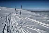 Karkonosze na nartach biegowych