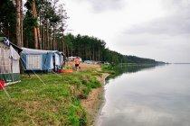 Kemping nad Jeziorem Sulejowskim