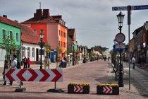 Kiedyś główna ulica, dziś deptak w Łebie