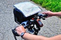 Kierownica rowerowego nawigatora