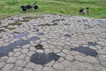 Kirkjugólfið - The Church Floor - pomnik przyrody w Klaustur