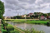 Kładka Green Velo na Sanie w Przemyślu