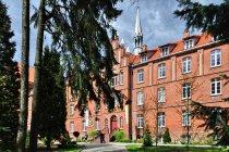 Klasztor werbistów w Pieniężnie