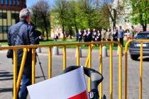 Kokardy, flagi na rowerach