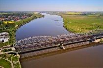 Kolejowo-drogowe mosty w Tczewie