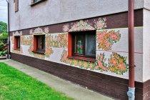Kolorowe domy Zalipia