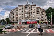 Komunistyczna, rumuńska architektura miast