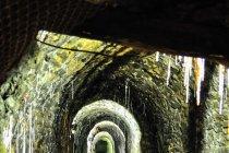 Korytarz w kopalni Rammelsberg