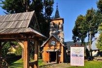 Kościół-galeria sztuki w Sromowcach Niżnych