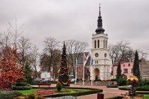 Kościół przy rynku w Uniejowie