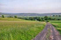 Krajobraz Pogórza Wezerskiego