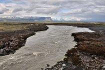 Krajobraz południa Islandii