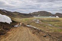 Krajobraz rezerwatu przyrody Fjallabak