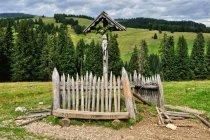 Krzyż na Alpe di Siusi