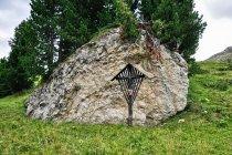 Krzyż pod Passo di Valparola