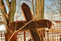 Krzyż sprzed prawie 130 lat