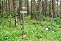 Krzyże na cerkwisku w Wierszalinie
