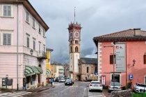 La Torre Civica w Cavalese