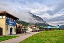 Lago di Tesero - centrum sportów zimowych