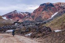 Lawowe krajobrazy Fjallabaku