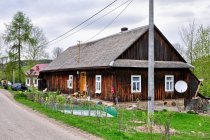 Łemkowska chyża w Skwirtnem