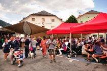 Lokalna fiesta w San Candido