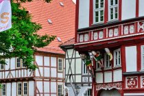 Łuczniczka przed domem kultury w Duderstadt