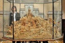 Makieta z korka dla niewidomego księcia na zamku w Marienburgu