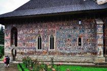 Malowana ściana cerkwi
