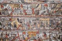 Malowidła na ścianach cerkwi