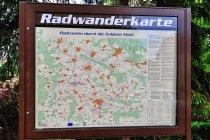 Mapa dróg rowerowych przed Getyngą