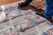 Mapa tras biegowych Kaiserwinkl
