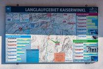 Mapa tras narciarskich w Tyrolu