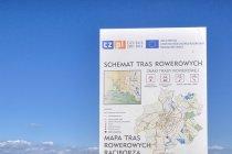 Mapa tras rowerowych okolic Raciborza
