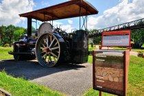 Maszyna drogowa z muzeum w Szczucinie