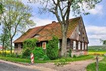Mennonicki dom w Wielkim Zajączkowie