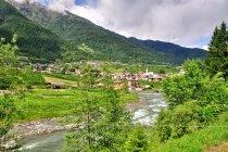 Miasteczka przy drodze rowerowej w Val di Sole