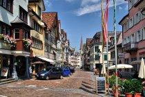 Miasteczko Altstadt w Szwajcarii