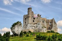 Mirów - ruiny zamku