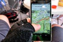 Mobilna aplikacja Trentino Outdoor