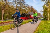 Molli - zabytkowy pociąg między Heiligendamm a Bad Doberan