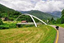 Most dla rowerów w prowincji Trydentu