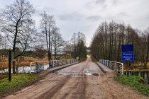 Most na Czarnej Hańczy koło Dworzyska