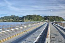 Most Nordhorlandsbrua przed Bergen