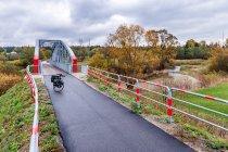 Most rowerowy na Wielkim Rogoźniku