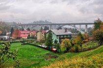 Most trasy ekspresowej koło Milówki