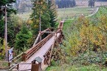 Most w trójstyku granic PL-CZ-SK